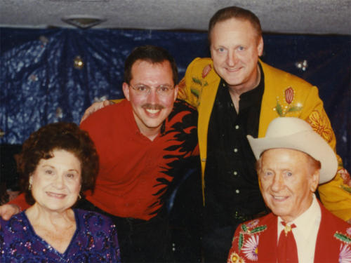 Kitty Wells, Johnny Wright & Bobby Wright