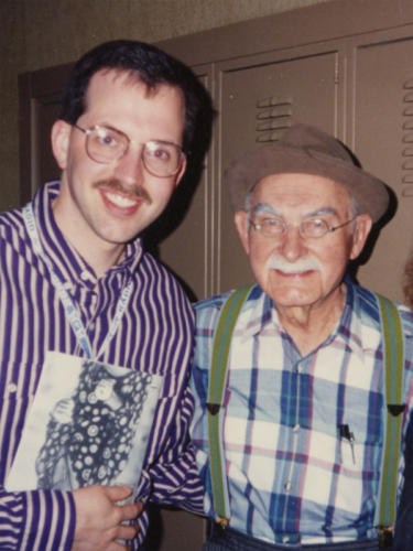 Grandpa Jones from Hee-Haw
