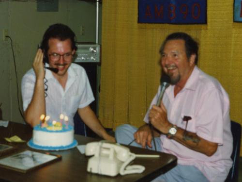Birthday Cake with Hank Thompson