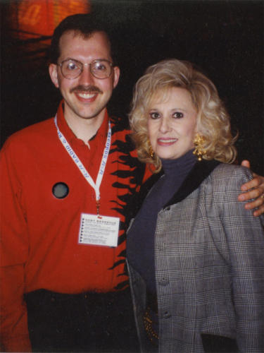 Jay with Tammy Wynette